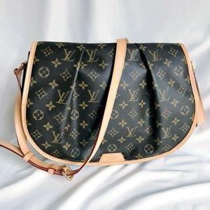 Louis Vuitton Monogram Menilmontant MM Crossbody
